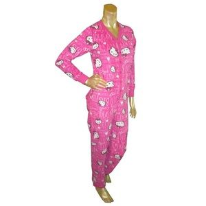 Ladies Hello Kitty Pajamas Sz XS